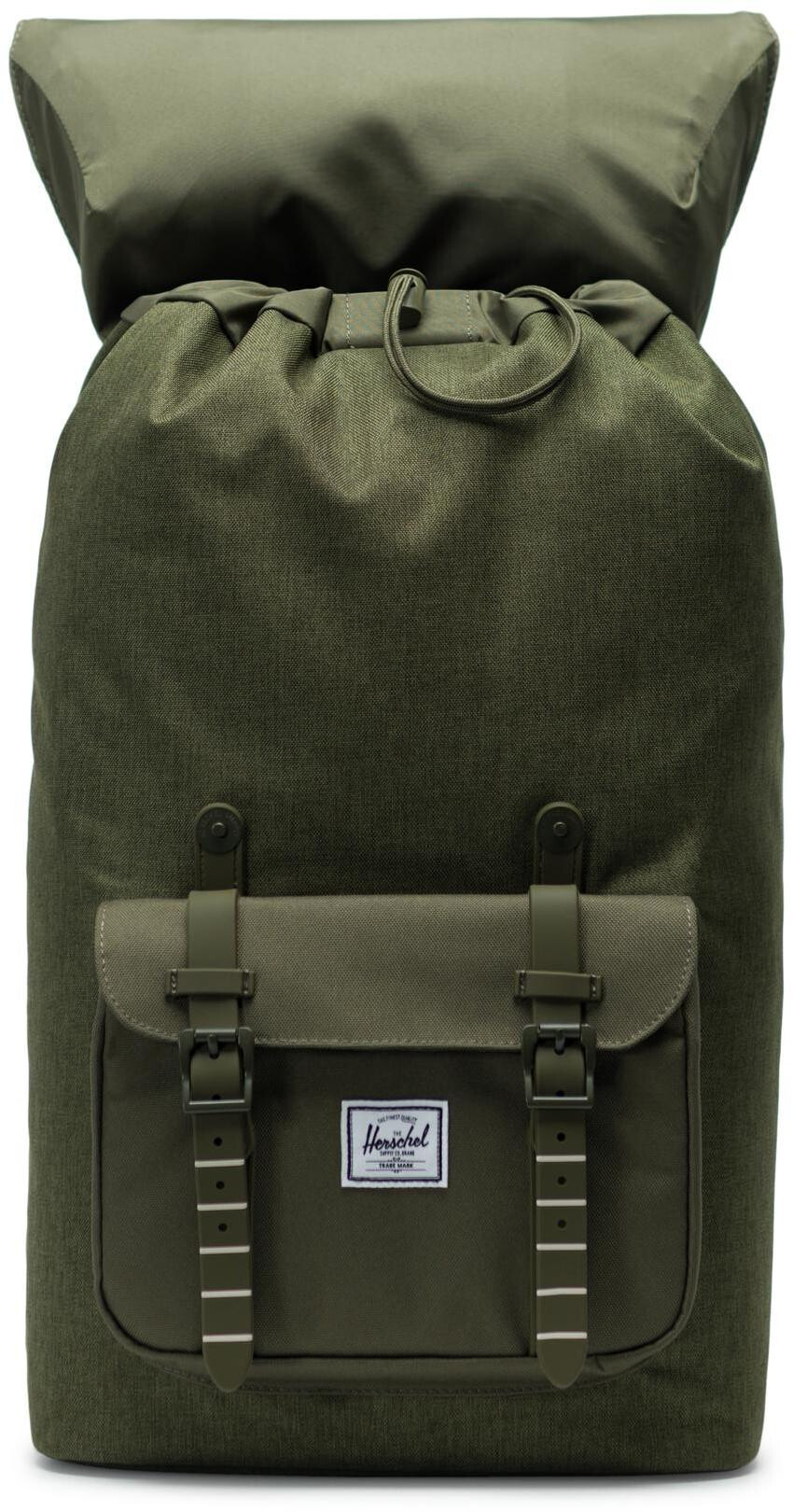 ed1a37f8e9080 Herschel Little America Backpack Unisex olive night crosshatch olive night